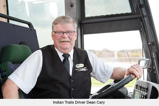 Driver Dean Carey