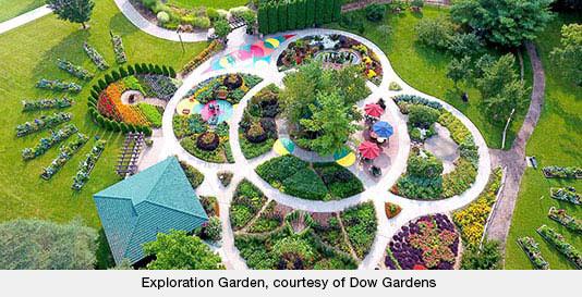 Exploration Garden, courtesy of Dow Gardens