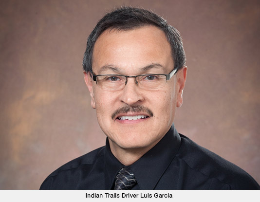 Indian Trails Driver Luis Garcia