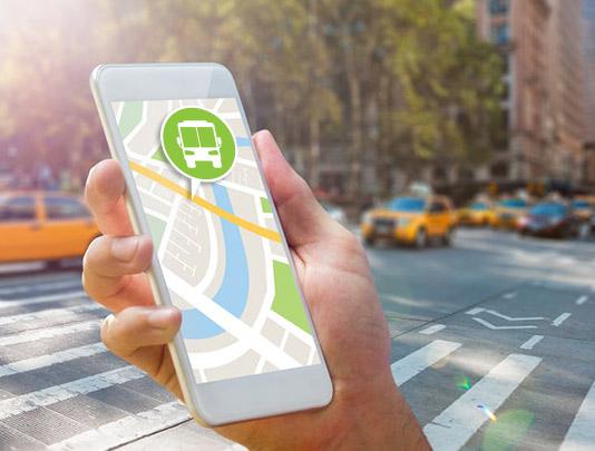 Mobile transit apps