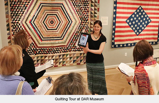 Quilting Tour at the DAR Museum