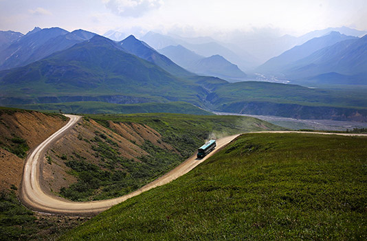 Thorofare Ridge Trail - Denali